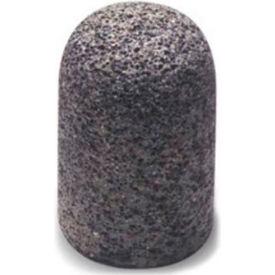 "GCW Abrasives Plug Round Tip 1-1/2"" x 2-1/2"" - 3/8-24 Shank, 16, Pink - Pkg Qty 10"