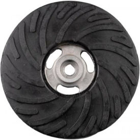 """CGW Abrasives 49504 Air-Cooled Rubber Back-Up Pads, 7""""x5/8-11"""""""