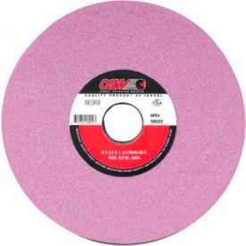 "CGW Abrasives 58023 Pink Surface Grinding Wheels 8"" 60 Grit Aluminum Oxide - Pkg Qty 10"