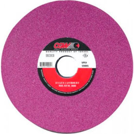 "CGW Abrasives 59012 Ruby Surface Grinding Wheels 10"" 46 Grit Aluminum Oxide - Pkg Qty 5"