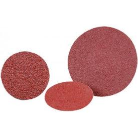 """CGW Abrasives 59539 Quick Change 2-Ply Discs, 3"""" 50 Grit Aluminum Oxide - Pkg Qty 25"""