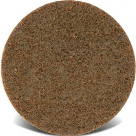 "CGW Abrasives 70005 Surface Conditioning Discs, Hook & Loop 4"" Heavy Duty Grit Aluminum Oxide - Pkg Qty 10"