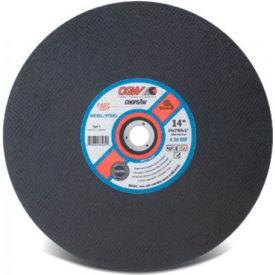 "CGW Abrasives 70113 Metal Cut-Off Wheel 14"" x 1"" Type 1 30 Grit Aluminium Oxide - Pkg Qty 10"