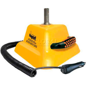 Magnetic Mount Base w/ Handle and Coiled Power Cord w/ Switch on Lighter Plug