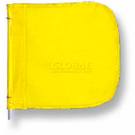 "Heavy Duty Flag, 12""x11"" Yellow"