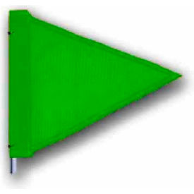 "Heavy Duty Flag, 12""x9"" Green"