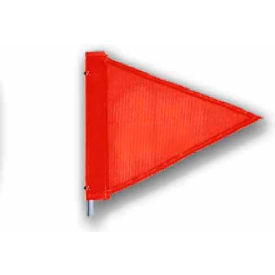 "Heavy Duty Flag, 12""x9"" Orange"