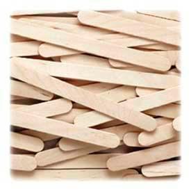 "Chenille Kraft® Creativity Street Economy Grade Craft Sticks, 4-1/2"" x 3/8"", Natural, 1000/Box"
