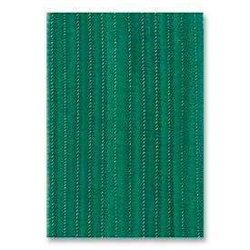 "Chenille Kraft® Jumbo Stems, 6mm x 12""L, 100/Pack, Green"