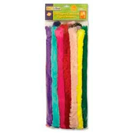 Chenille Kraft® Super Colossal Pipe Cleaners, Assorted, 24 Pieces/Pack