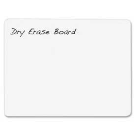 "Chenille Kraft® Dry-Erase White Board, Plain, 12"" x 9"", 1 Each"