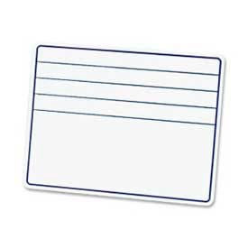 """Chenille Kraft® Dry-Erase White Board with Lines, 12"""" x 9"""", 1 Each"""