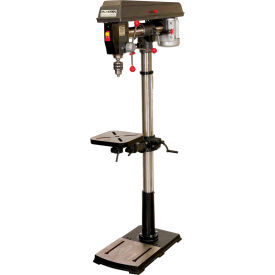 Palmgren 9680342 - Radial Arm - 5 Speed Floor Step Pulley Drill Press