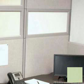"Compatico CMW 12""H x 36""W PolyStax Frosted Glass Segment with Innertone Light Frame"