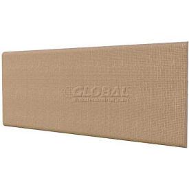 "Compatico CMW 48""W Fabric Covered Tackboard - Winter Birch Taupe"