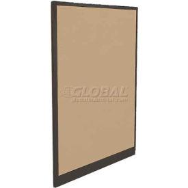 "Compatico CMW 65""H x 42""W Fabric Panel w/ Non-Powered Base - Winter Birch Taupe"