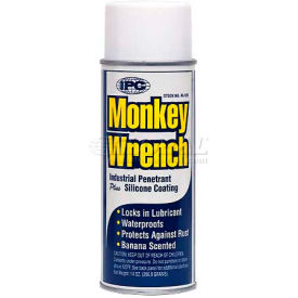 Monkey Wrench™ Oil-Penetrant Industrail Nut Buster, 14 Oz. Aerosol - Pkg Qty 12
