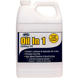 Oil-In-One™ Cutting Oil, Dark, 5 Gal.