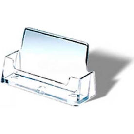 Retail display fixtures acrylic glass displays business card business card holder crystal clear styrene pkg qty 42 colourmoves