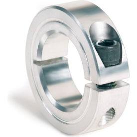 """One-Piece Clamping Collar, 1-1/4"""", Aluminum"""