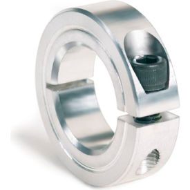 "One-Piece Clamping Collar, 1-3/8"", Aluminum"