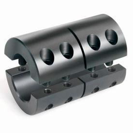 "2-Piece Clamping Couplings Recessed Screw, 1-1/4"", Black Oxide Steel"