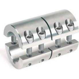 """2-Piece Industry Standard Clamping Couplings w/Keyway, 1-3/8"""", Stainless Steel"""