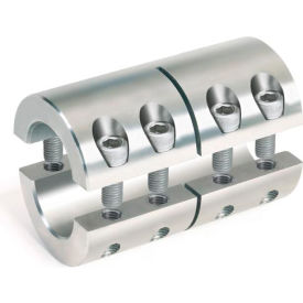 Metric Two-Piece Industry Standard Clamping Couplings, 15mm, Stainless Steel