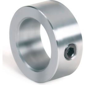 "Set Screw Collar, 1/4"", Unplated Steel"