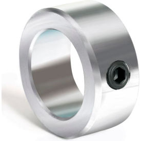 "Set Screw Collar, 7/16"", Zinc Plated Steel"