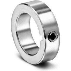 """Set Screw Collar with Keyway C-KW-Series, 1-1/2"""", Black Oxide Steel"""