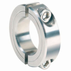 """Corrosion Resistant Two-Piece Clamping Collar CR, 1/2"""", 316 Stainless Steel"""