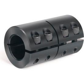 Metric One-Piece Industry Standard Clamping Couplings, 20mm, Black Oxide Steel