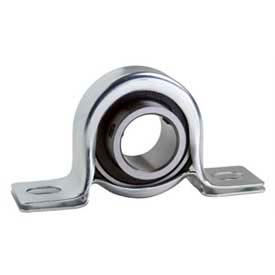 """Clesco, Pillow Block Ball Bearing, PBPS-BL-050, Self-Aligning, Pressed Steel Housing, 1/2"""" Bore"""
