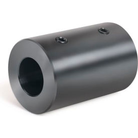 "Set Screw Coupling, 1/4"", Black Oxide Steel"