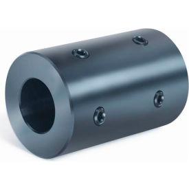 """Rigid Coupling 4 Set Screws 2 @ 90 RC4H-Series, 1/2"""", Black Oxide Steel"""