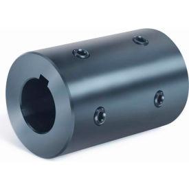 "Rigid Coupling 4 Set Screws 2 at 90 RC4H-Series, 1-1/8"", Black Oxide Steel"