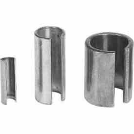 """Climax Metal, Reducer Bushing, SRB-040516, Galvanized Steel, 1/4""""ID X 5/16""""OD, 1""""L"""
