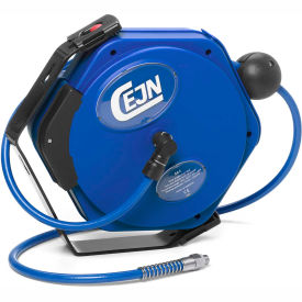 "Cejn® Compressed Air PUR Hose, Reel, 5/16"" X 23, 1/4"" Male NPT Connection"
