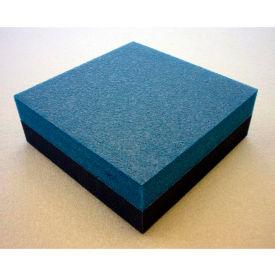"Clark Foam Products, 1001164, Foam Sheet, 220 Poly, Blue/Charcoal, 1-1/2""H x 24""W x 27""L"