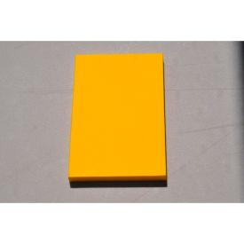 """Clark Foam Products, 1001356Y, Kitting Sheet, Polyethylene, Yellow, 1""""H x 24""""W x 48""""L"""