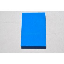 "Clark Foam Products, 1001358BLU, Kitting Sheet, Polyethylene, Blue, 1""H x 48""W x 96""L"