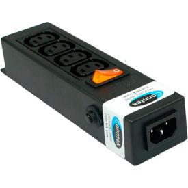 Conntek 55705 Power Strip 250V IEC C14 Inlet to 4 x IEC C13