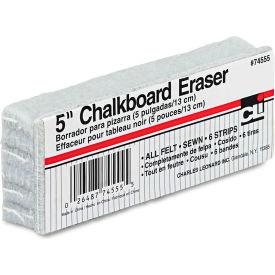 """Charles Leonard Wood Felt Chalkboard Eraser, 5""""W x 2""""D by"""