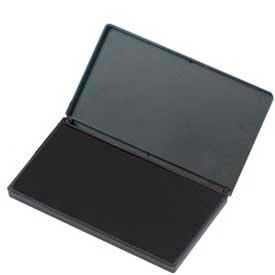 "CLI® Stamp Pad, 2-3/4"" x 4-1/4"", Nontoxic, Reinkable, Black"