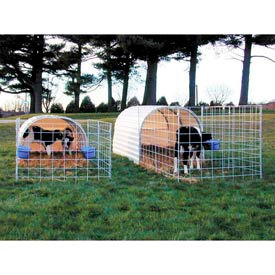 "Small Animal Hut 8'1""W x 6'2""H x 16'L"