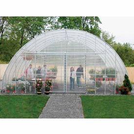 "Clear View Greenhouse Kit 20'W x 10'7""H x 48'L - Natural Gas"