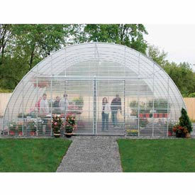 Clear View Greenhouse Kit 30'W x 12'H x 60'L - Natural Gas