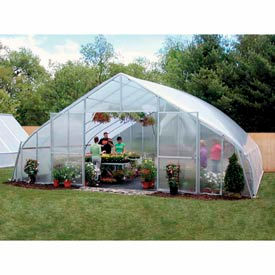 34x12x72 Solar Star Greenhouse w/Poly Ends and Roll-Up Sides