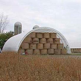 Econoline Storage Building 20'W x 12'H x 20'L White Freestanding